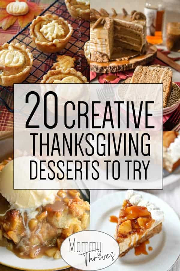 Easy Fall Desserts For A Crowd  20 Delicious and Unique Thanksgiving Desserts Mommy Thrives