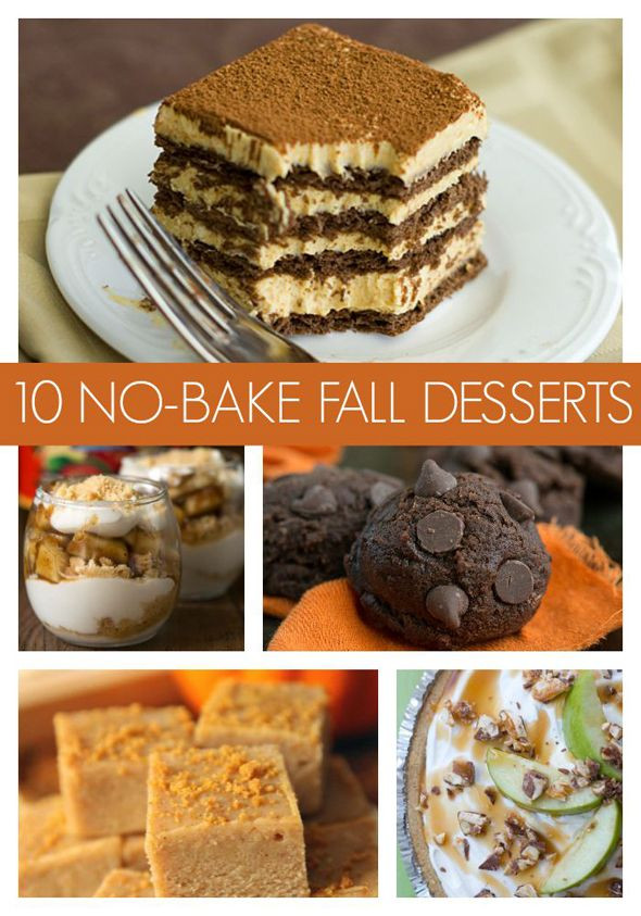 Easy Fall Desserts For A Crowd  10 Super Easy No Bake Fall Desserts