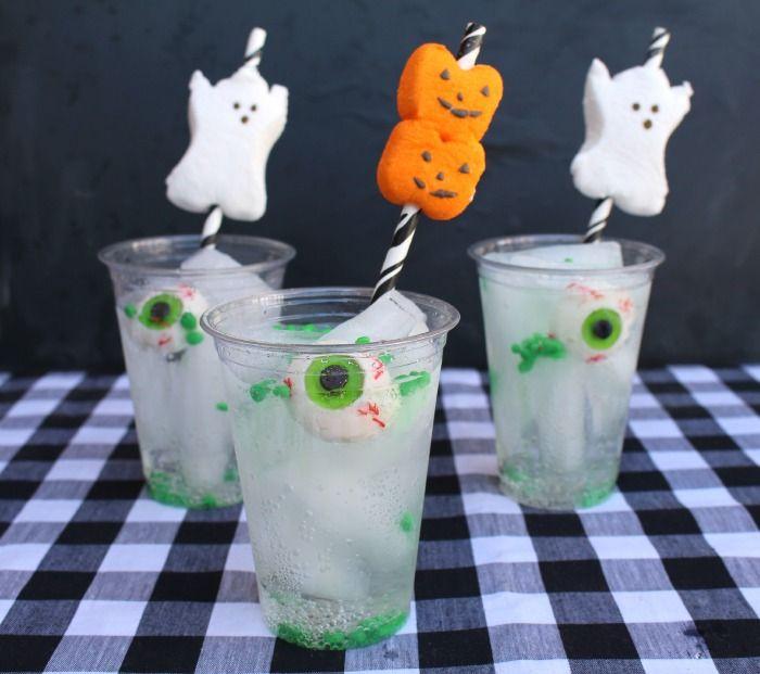 Easy Halloween Alcoholic Drinks  Creepy mocktails and other non alcoholic Halloween drinks