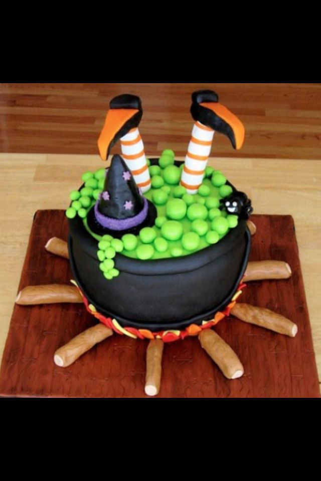 Easy Halloween Cakes Ideas  25 best ideas about Witch cake on Pinterest