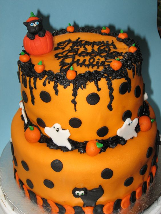 Easy Halloween Cakes Ideas  Easy Halloween Cake Ideas
