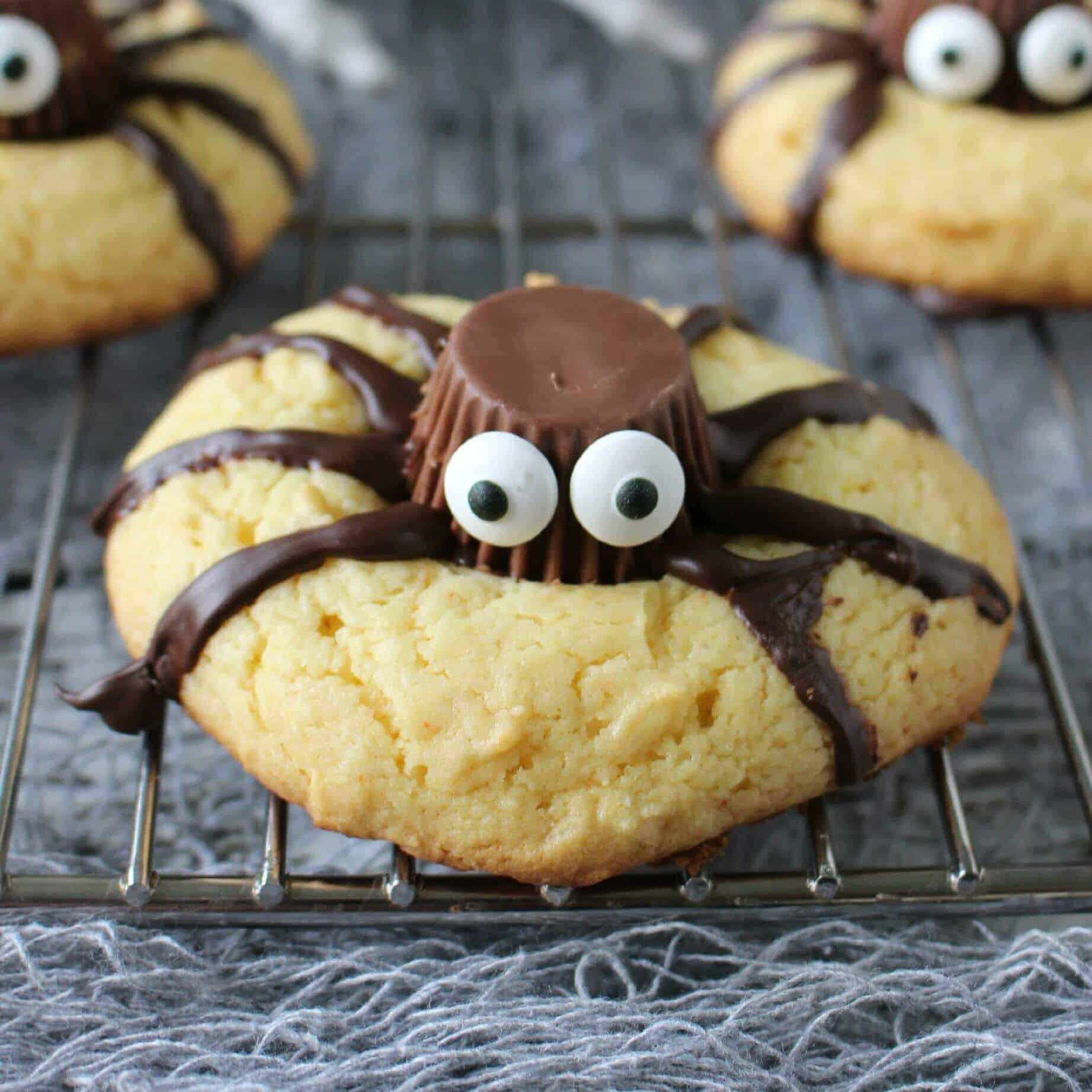 Easy Halloween Cookies  Easy Halloween Spider Cookies Page 2 of 2 Princess