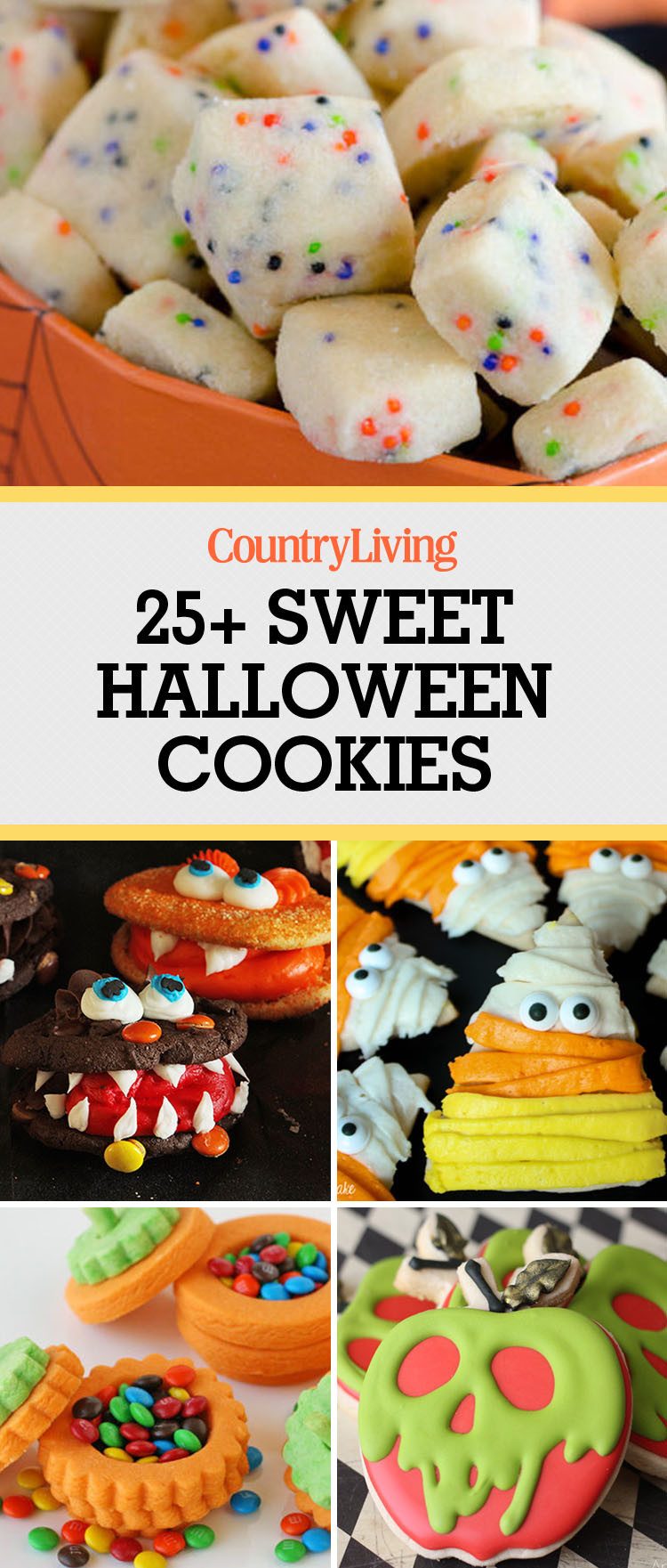 Easy Halloween Cookies  31 Easy Halloween Cookies Recipes & Ideas for Cute