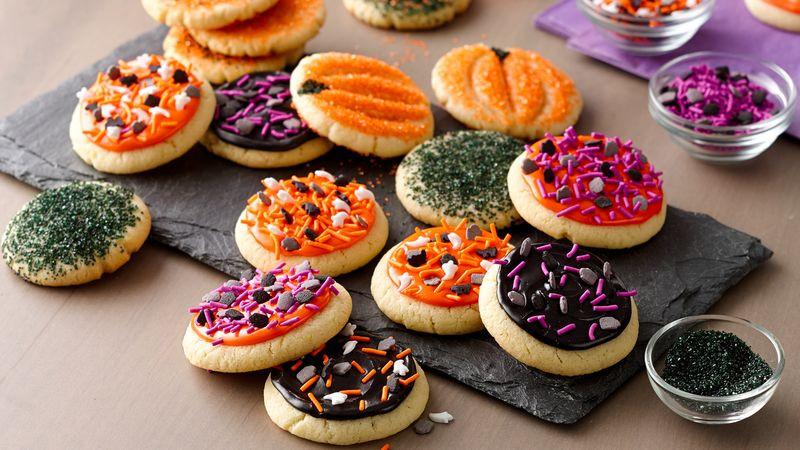 Easy Halloween Cookies  Easy Halloween Cookies recipe from Betty Crocker