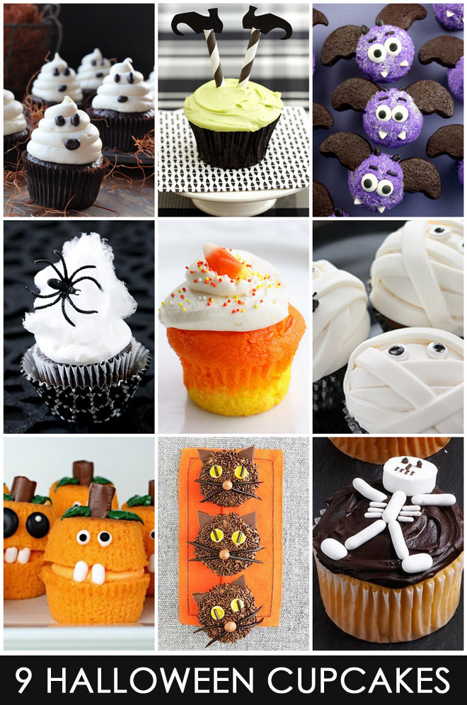 Easy Halloween Cupcakes Decorations  9 Easy & Cute Halloween Cupcakes