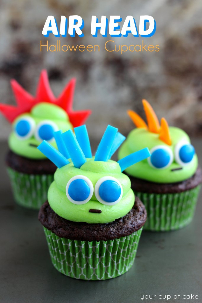 Easy Halloween Cupcakes For School  Easy Halloween Cupcake Ideas Your Cup of Cake