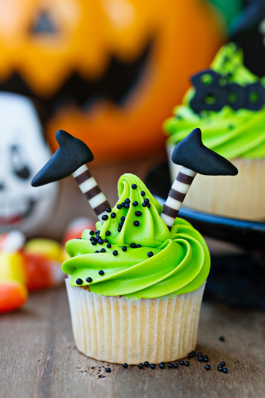 Easy Halloween Cupcakes For School  Halloween Cupcake Ideas