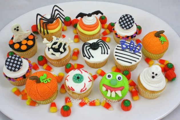 Easy Halloween Cupcakes For School  Halloween Cupcake Tutorial