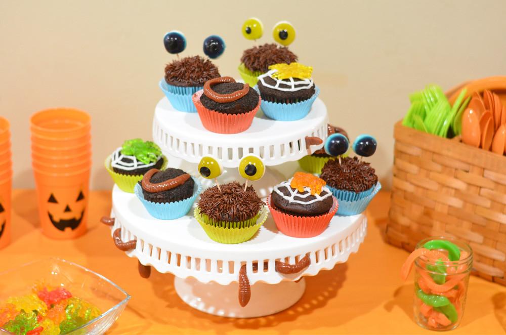 Easy Halloween Cupcakes For School  Halloween Cupcakes 3 Easy Halloween Cupcakes