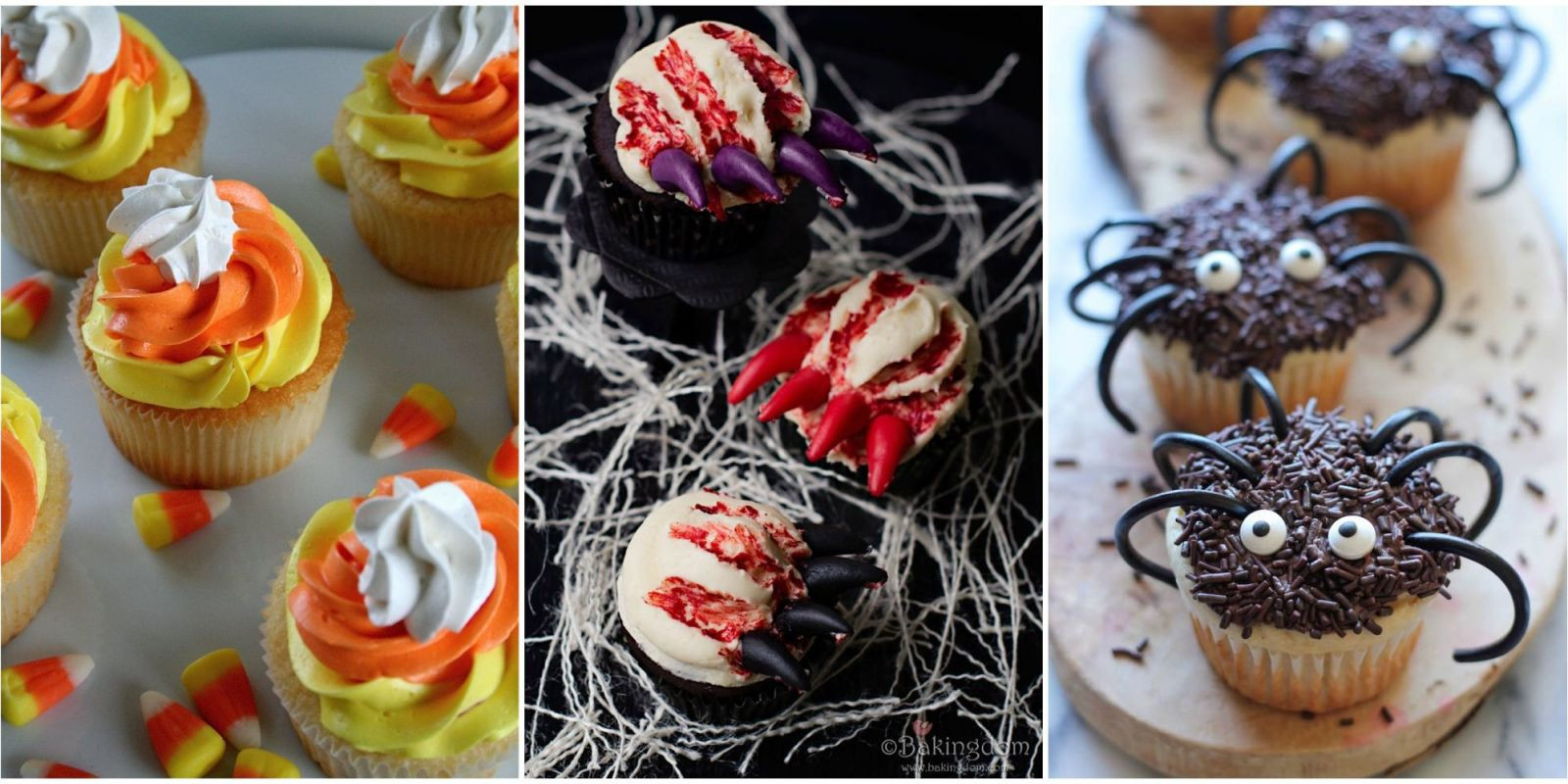 Easy Halloween Cupcakes For School  33 Cute Halloween Cupcakes Easy Recipes for Halloween