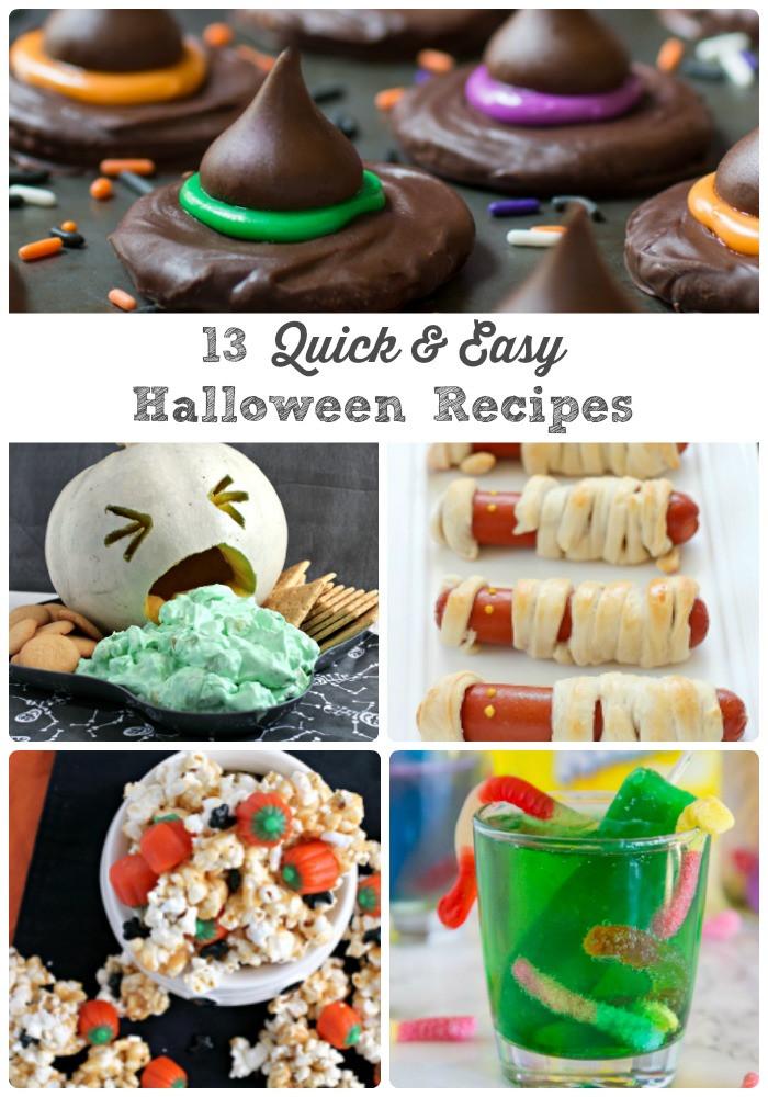 Easy Halloween Desserts  Frugal Foo Mama 13 Quick & Easy Last Minute Halloween