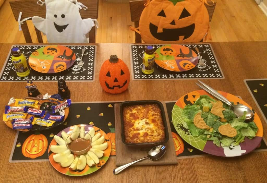 Easy Halloween Dinners  Easy Halloween Dinner With Treats4All