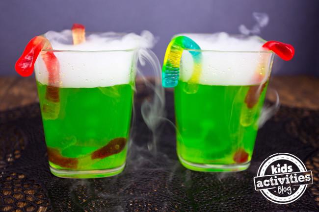 Easy Halloween Drinks  Halloween Party Drink Spooky Fog Drinks