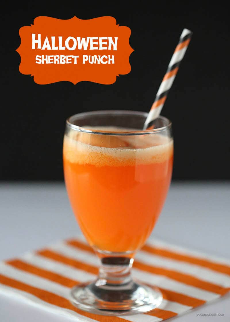 Easy Halloween Drinks  Halloween party drinks I Heart Nap Time