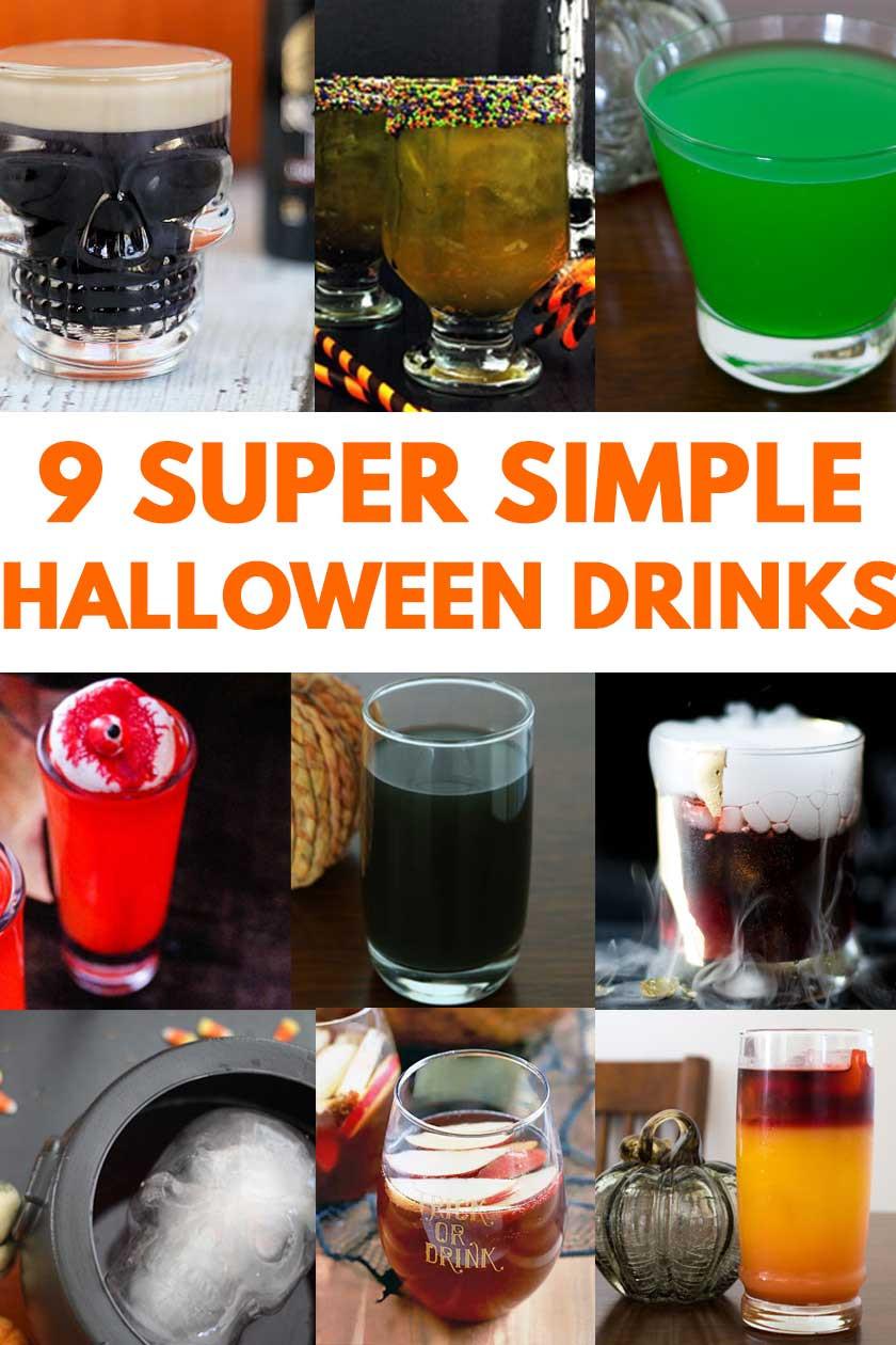 Easy Halloween Drinks  9 Simple Halloween Cocktails & Drinks
