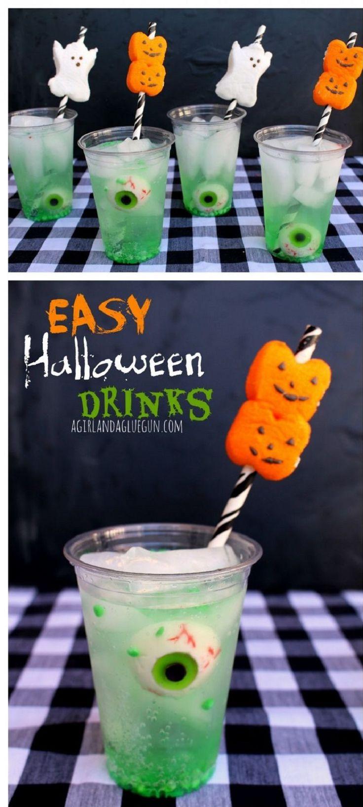 Easy Halloween Drinks  17 Best ideas about Adult Halloween Drinks on Pinterest