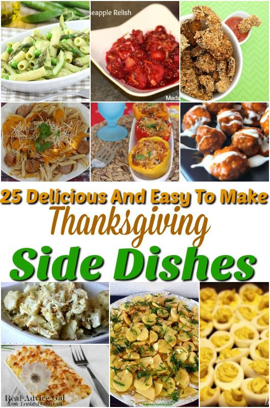 Easy Side Dishes For Thanksgiving  223 best images about Holidays Crafts Recipes & Fun on