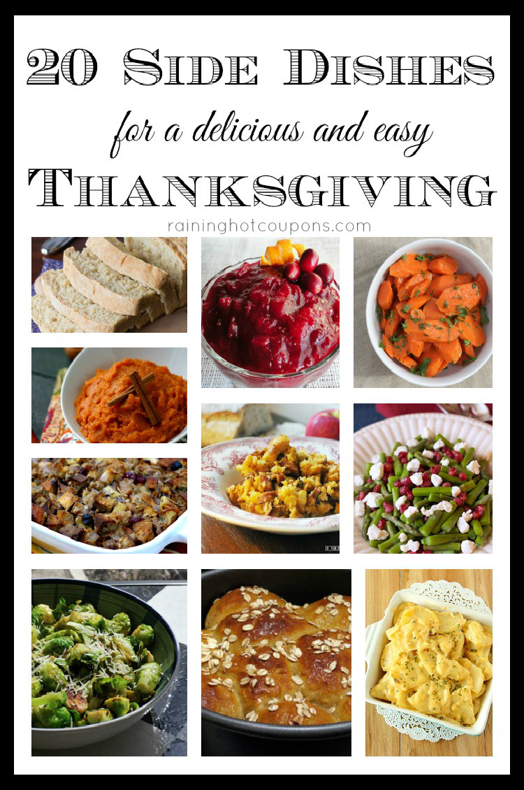 Easy Side Dishes For Thanksgiving Meal  20 Side Dishes for a Delicious and Easy Thanksgiving Dinner