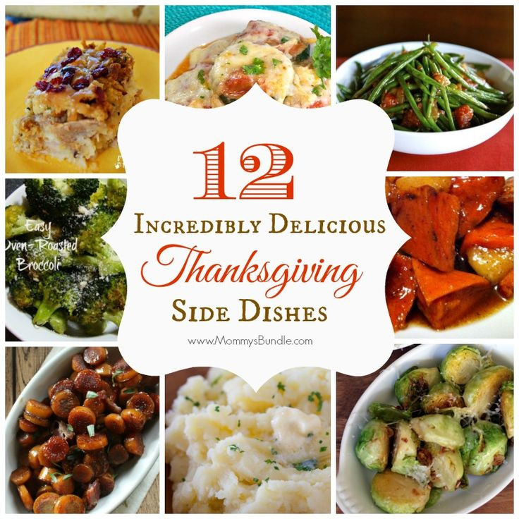 Easy Side Dishes For Thanksgiving Meal  11 best images about Thanksgiving Dinner on Pinterest
