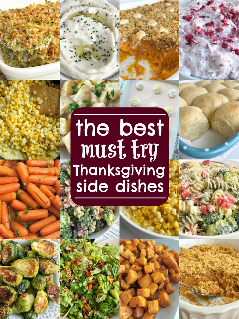Easy Side Dishes For Thanksgiving Meal  The Best Thanksgiving Side Dish Recipes To her as Family