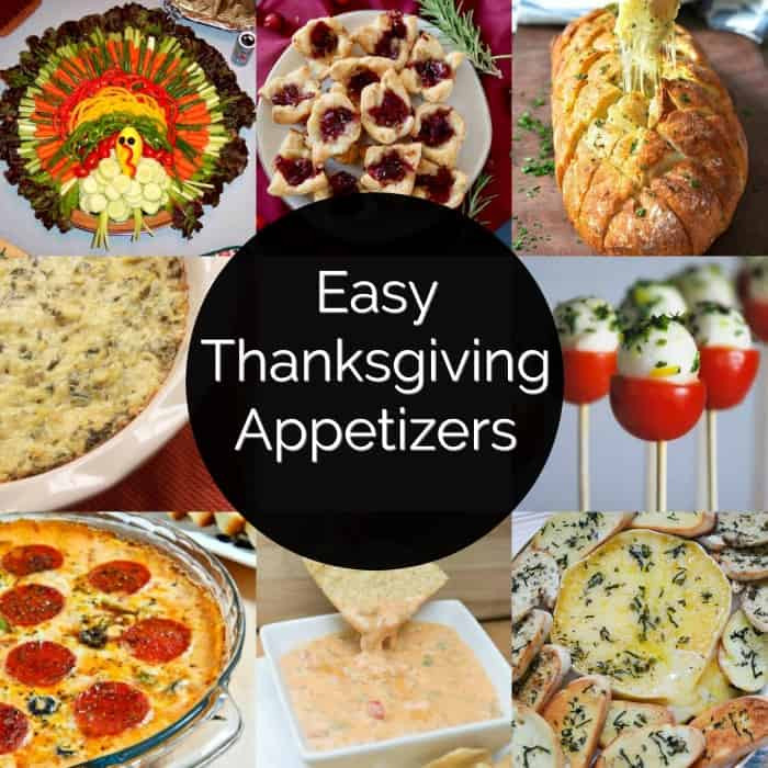 Easy Thanksgiving Appetizers  Easy Thanksgiving Appetizers Princess Pinky Girl
