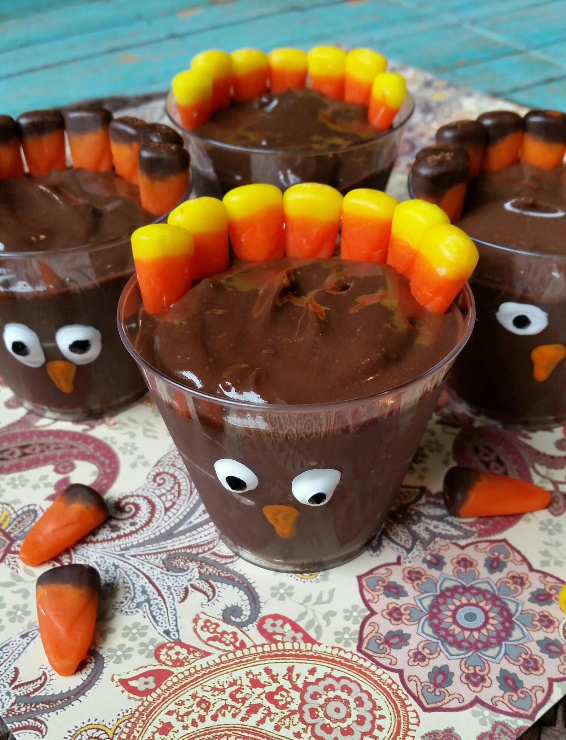 Easy Thanksgiving Desserts For Kids  Turkey Dessert Shooters Easy Thanksgiving Recipe Not