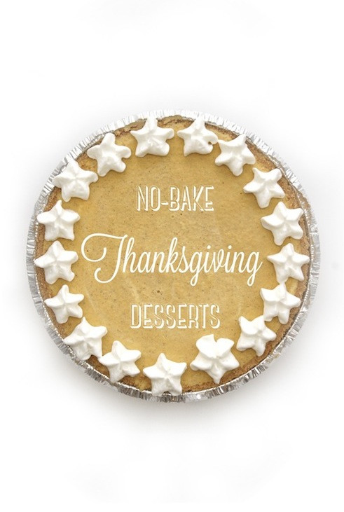 Easy Thanksgiving Desserts No Baking  Thanksgiving Desserts Easy No Bake Recipes