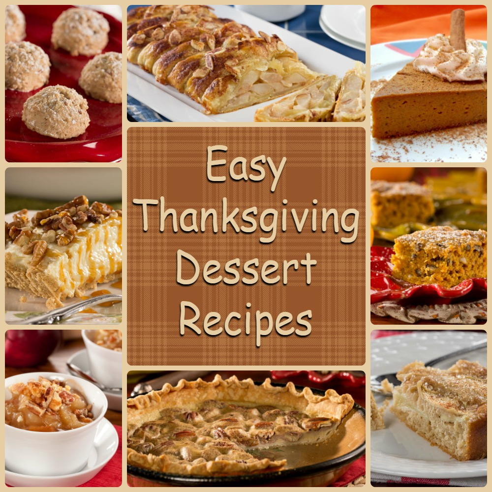 Easy Thanksgiving Desserts No Baking  Diabetic Thanksgiving Desserts 8 Easy Thanksgiving