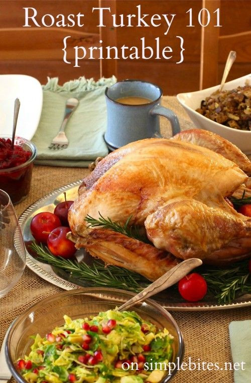 Easy Thanksgiving Turkey  Simple Roast Turkey Recipe