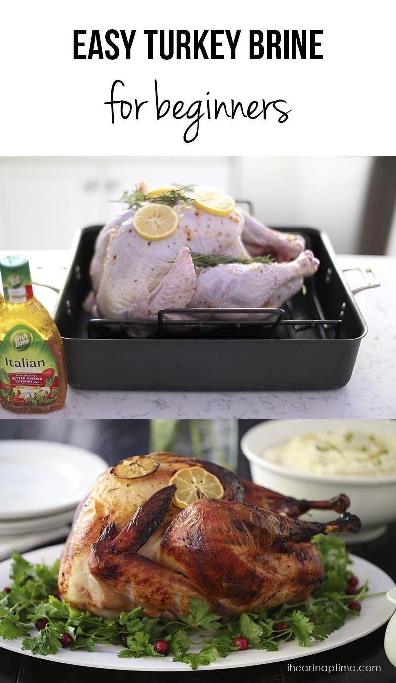 Easy Thanksgiving Turkey  Easy Turkey Brine Recipe Thanksgiving Ideas