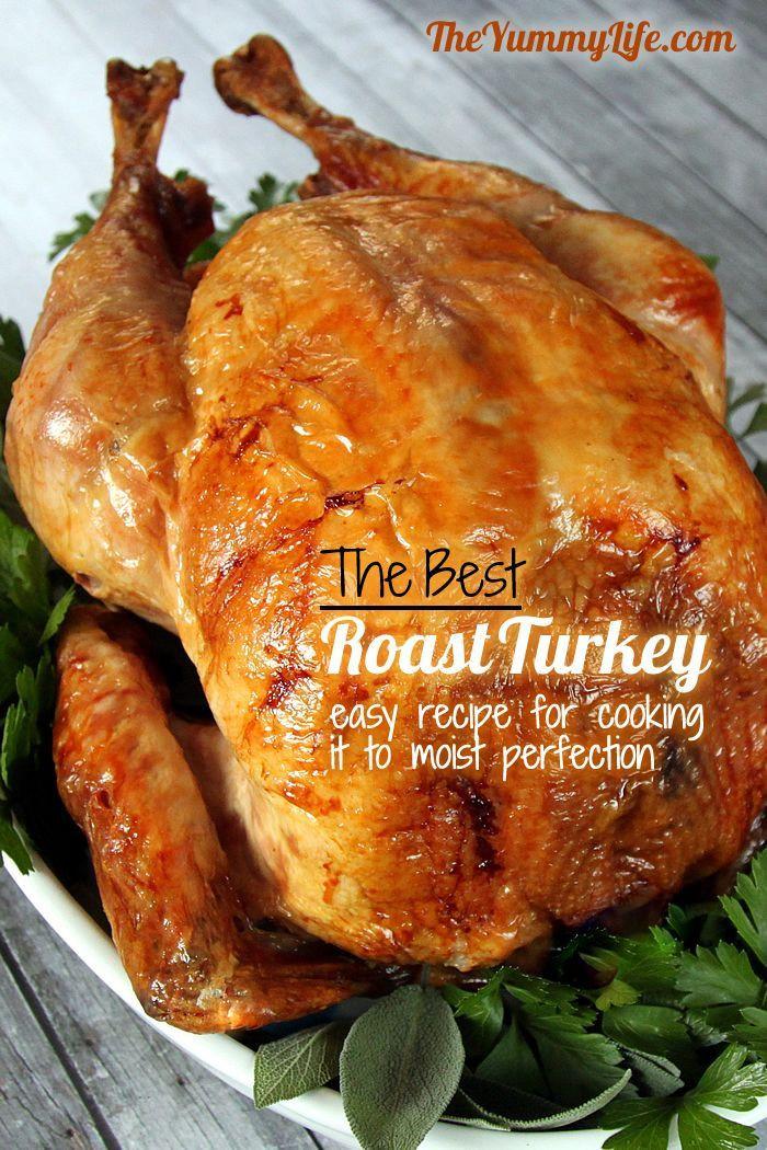 Easy Thanksgiving Turkey  100 Turkey recipes on Pinterest