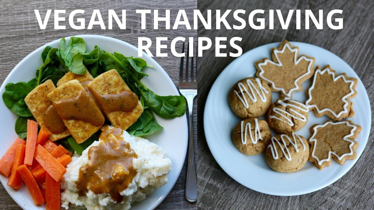 Easy Vegetarian Thanksgiving Recipes  Easy Vegan Thanksgiving Recipes