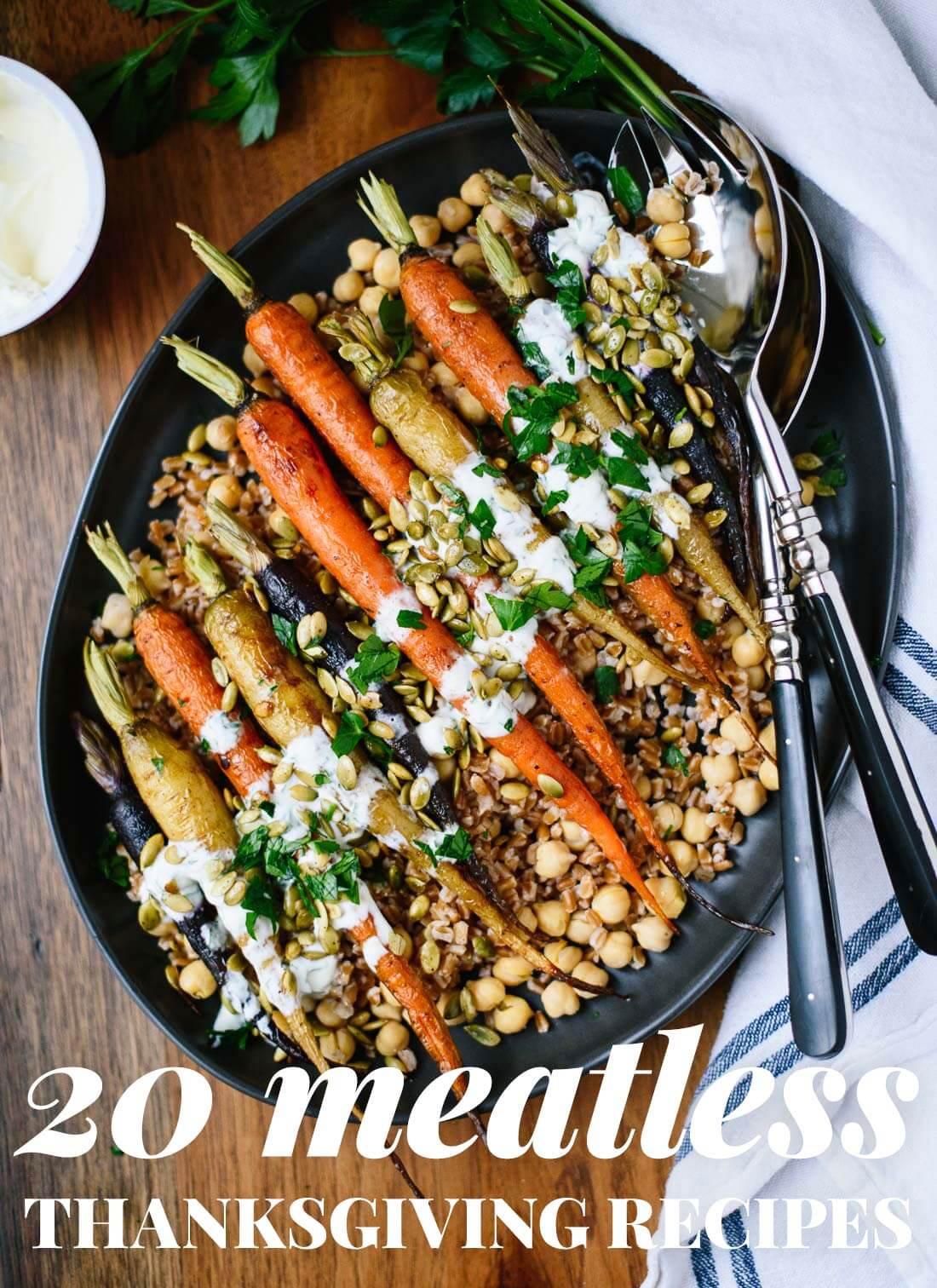 Easy Vegetarian Thanksgiving Recipes  20 Ve arian Thanksgiving Recipes Cookie and Kate