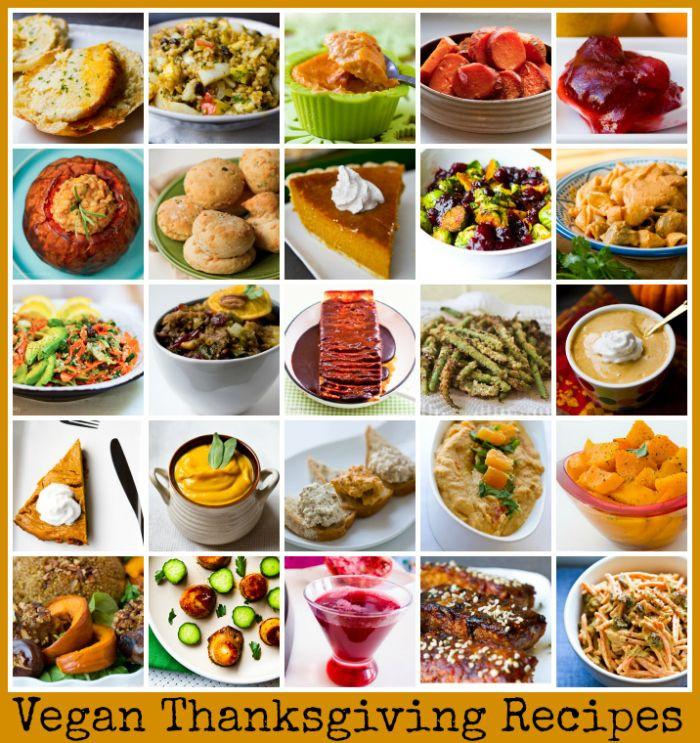 Easy Vegetarian Thanksgiving Recipes  Vegan Thanksgiving Recipes Recipes