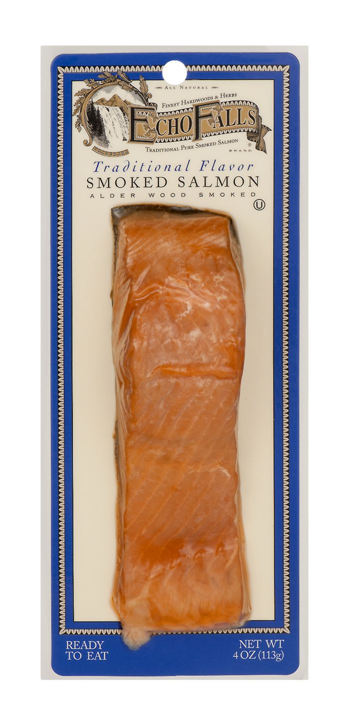 Echo Falls Smoked Salmon  Buy Echo Falls Smoked Salmon Traditional Flavor line