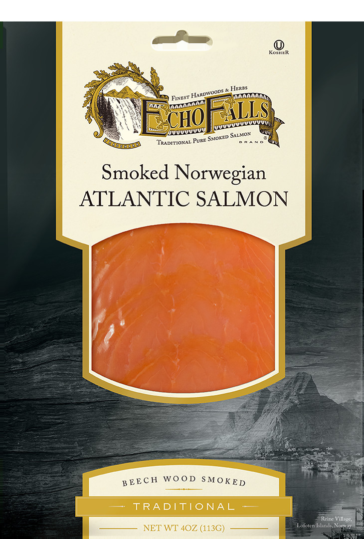 Echo Falls Smoked Salmon  Echo Falls