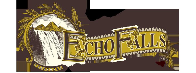Echo Falls Smoked Salmon  Echo Falls Logo
