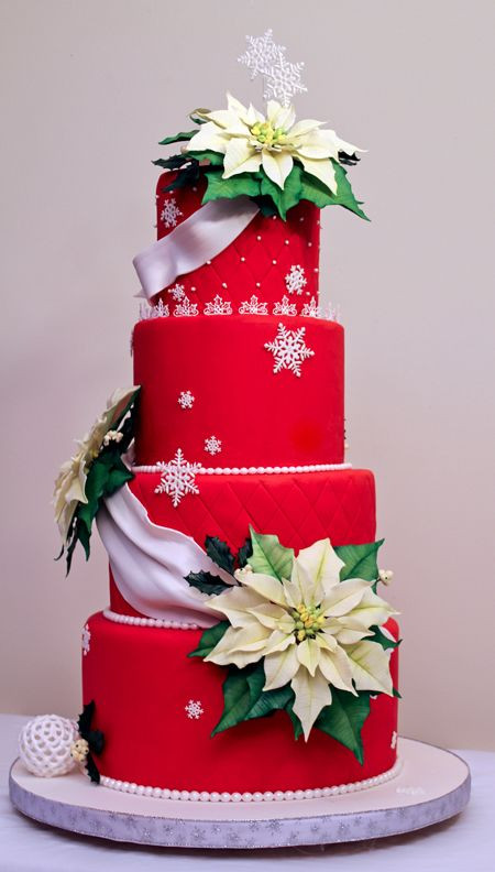 Elegant Christmas Cakes  25 Super Cute Christmas Cakes Page 15 of 25