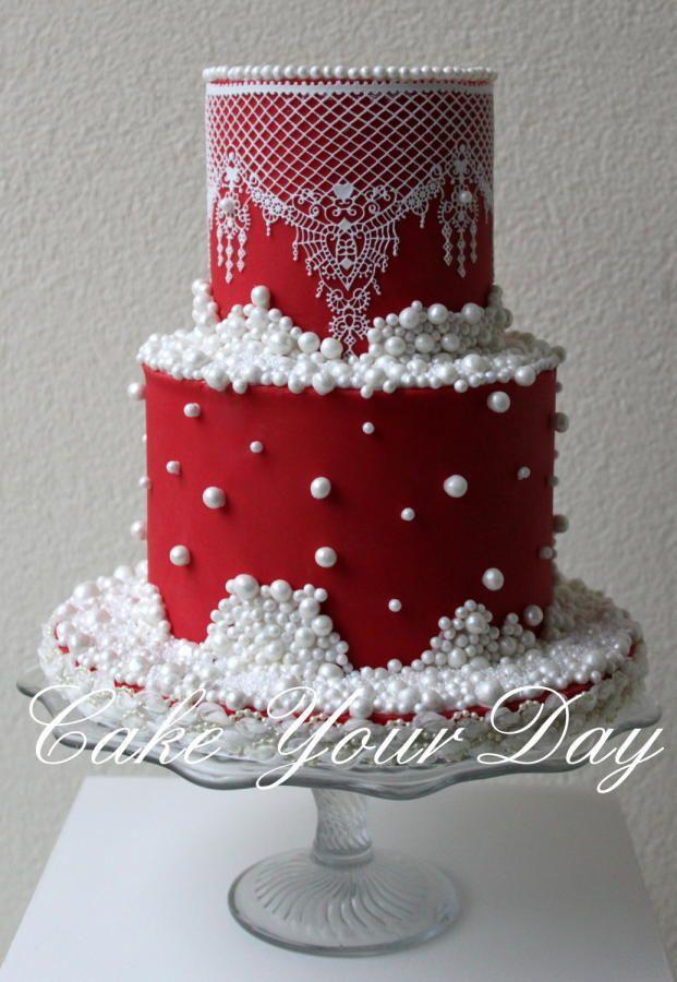 Elegant Christmas Cakes  Cake Wedding Cakes Weddbook