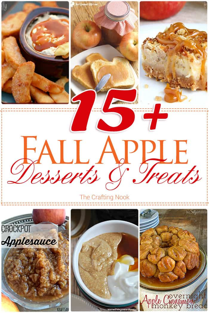 Fall Apple Desserts  15 Fall Apple Desserts and Treats