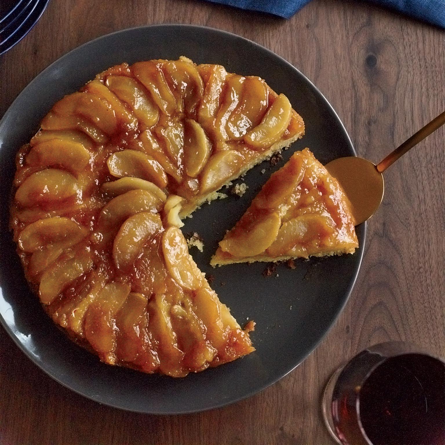 Fall Apple Recipes  Maple Apple Upside Down Cake Recipe Joanne Chang