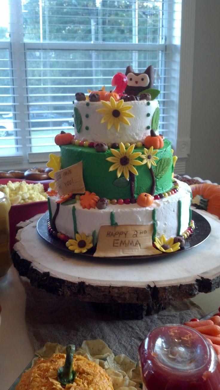 Fall Birthday Cake Ideas  17 Best ideas about Fall Birthday Cakes on Pinterest