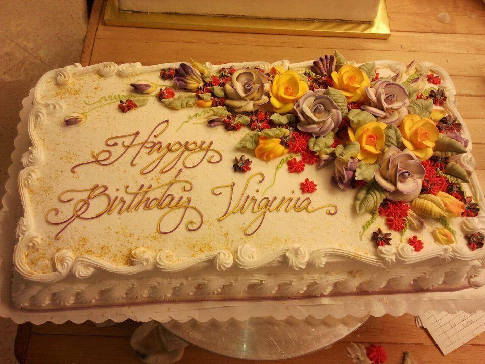 Fall Birthday Cake Ideas  Fall floral birthday cake cake ideas