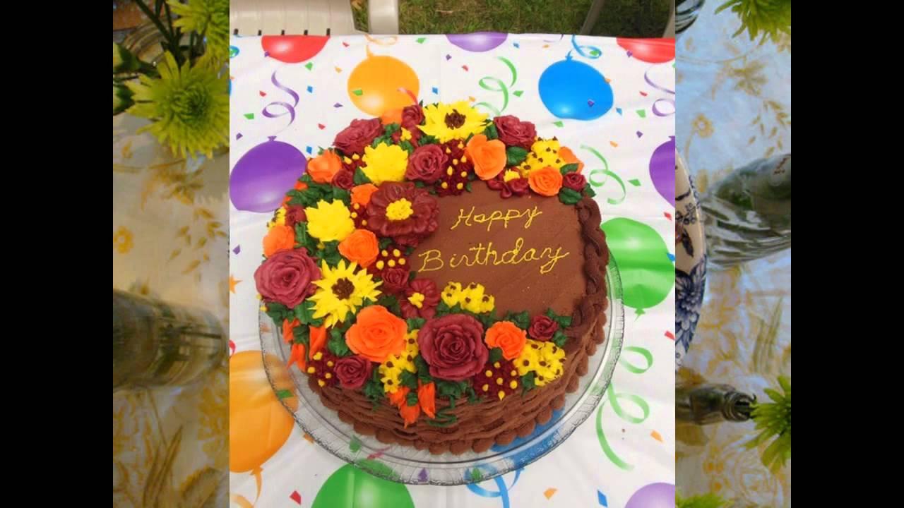 Fall Birthday Cake Ideas  Fall birthday cake decorating ideas