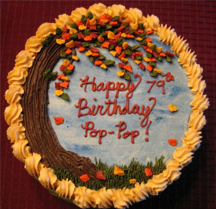 Fall Birthday Cake Ideas  76 best fall wedding cakes images on Pinterest