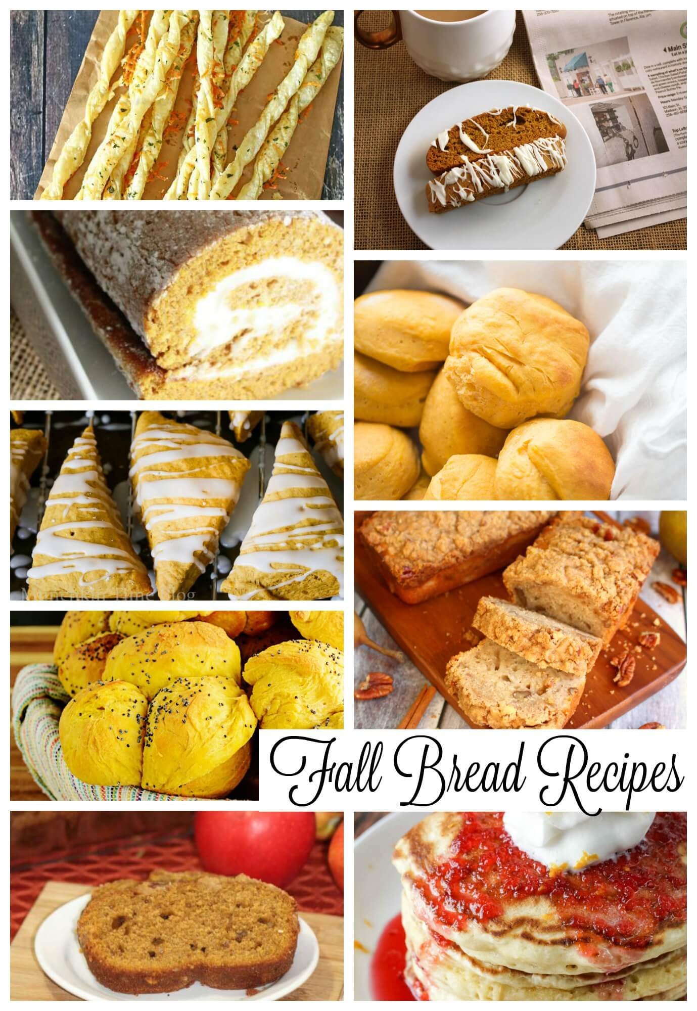 Fall Bread Recipes  Fall Bread Recipes Life Sew Savory