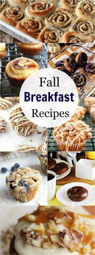 Fall Breakfast Recipe  Fall Breakfast Recipes The Melrose Family