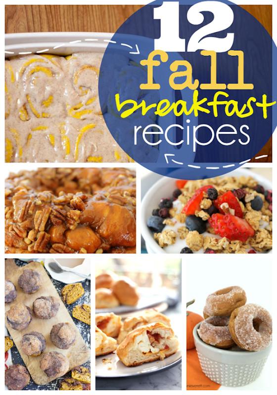 Fall Breakfast Recipe  Ginger Snap Crafts