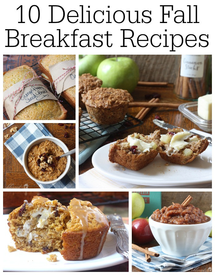 Fall Breakfast Recipes  10 Delicious Fall Breakfast Recipes