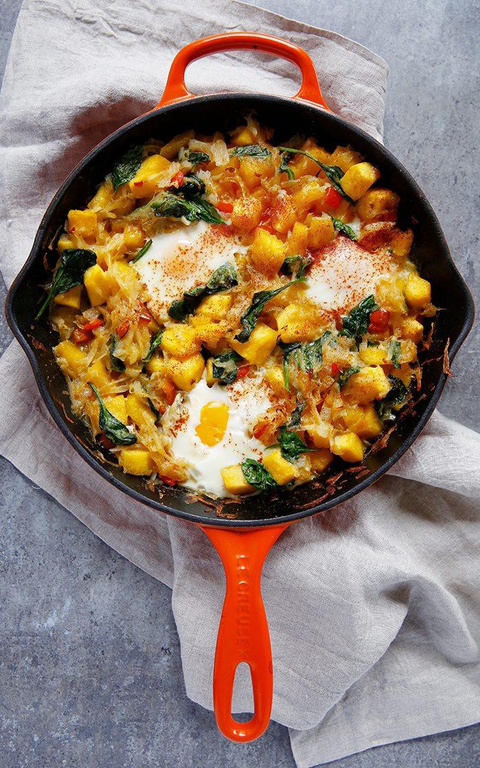 Fall Breakfast Recipes  Fall Hash Brown Breakfast Skillet Lexi s Clean Kitchen